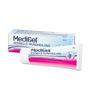 MediGel® Schnelle Wundheilung.